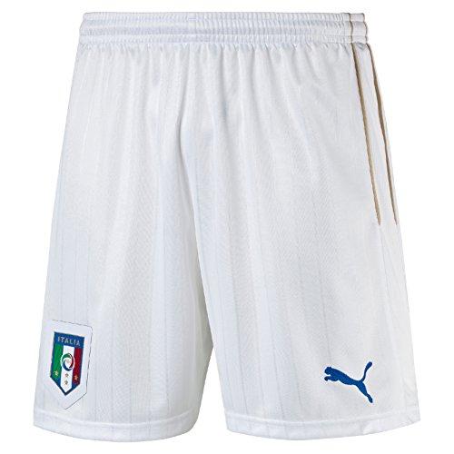 Puma Herren Hose FIGC Italia Shorts Replica, White/Team Power Blue, XL, 748835 02