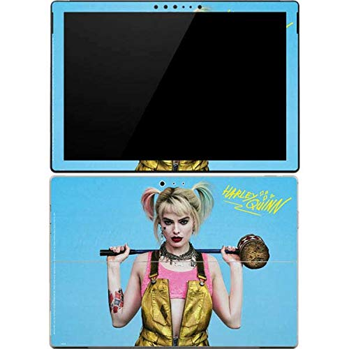 Skinit Decal Tablet Skin for Surface Pro 4 - Officially Licensed Warner Bros Dont Mess with Harley Quinn Design