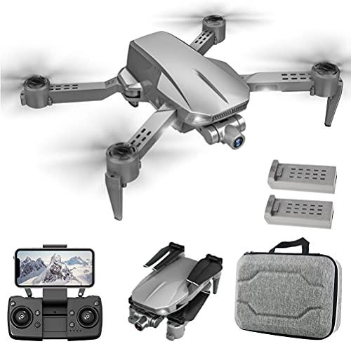 FXQIN Drone Professionale con Trasmissione di Immagini 5G, Drone GPS con Telecamera ESC 4K, droni Pieghevoli 5G WiFi FPV Trasmissione, Drone GPS per Adulti, Fotocamera ESC a 90°