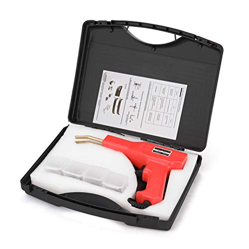 Pistola Saldatrice, KKmoon Saldatrice di Plastica Calda da 50W Kit di Riparazione Paraurti per Auto Saldatura Riparazione Macchina Saldatore Pistola Riparazione