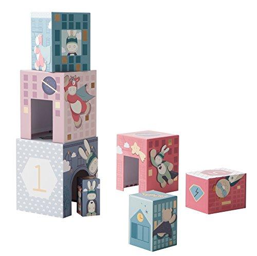 Noukies ED172120.63 Cubes à Empiler