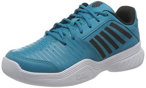 K-Swiss Performance KS TFW Court Express Carpet WHT Tennisschuh, Algiers Blue/Black/White, 39 EU