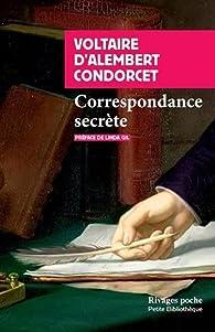 Correspondance secrète par  Voltaire