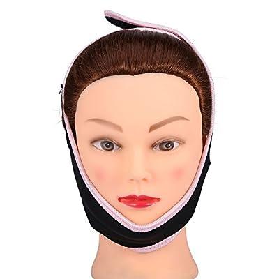 Face Slimming Mask, Beauty Face-Lift Mask Massage Shaper Face Slimming Chin Neck Lift Up Bandage Correction Belt from Yotown