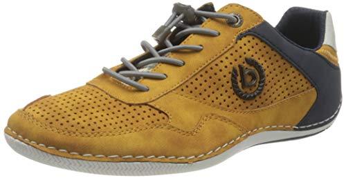 bugatti Herren 321480105000 Sneaker, Yellow, 45 EU