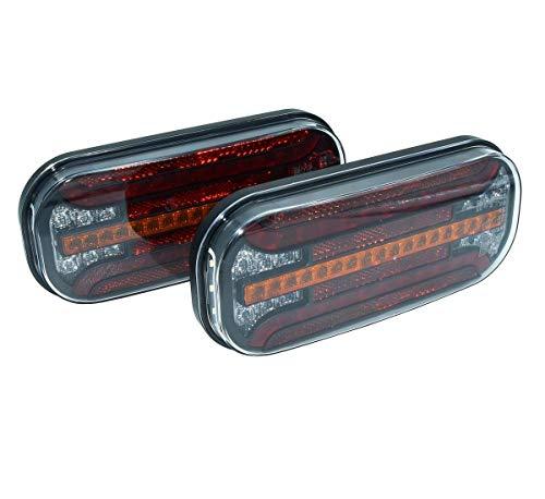 Fristom FT-230 LED-Rückleuchte Links & rechts 12V/24V 5-pol. Bajonett, KZL RFS NSL PKW-Anhänger LKW Rücklicht