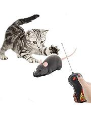 LHKJ Trådlös fjärrkontroll mus leksak elektronisk RC leksaker råtta för katt hund