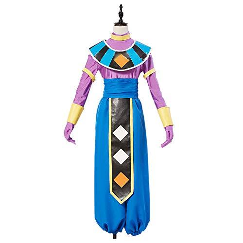 THWJSH - Disfraz de anime clsico para cosplay (destructor), disfraz de destructor de disfraces de artes marciales y estilos de lavado azul-XXL