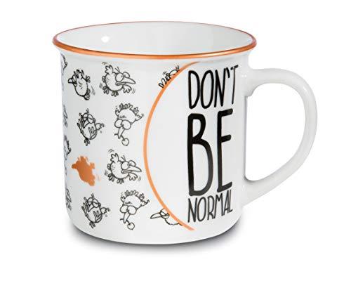 NICI 45021 Don`t be normal - Taza de porcelana