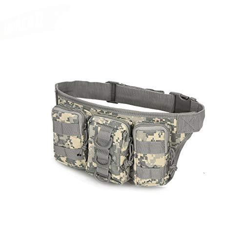 Bolsa de cinturón de la cintura Tactical Belt Bag - táctico impermeable de los hombres de la cintura paquete de excursiones de nylon bolso de la cintura del ejército al aire libre militar Caza Deporte