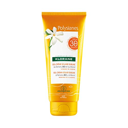 Protetor Solar Klorane Polysianes Gel-Creme Sublime FPS30 200ml