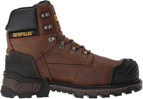 Caterpillar Men's ExcavatorXL 6' WP CT Construction Boot, Dark Brown, 10.5 Wide