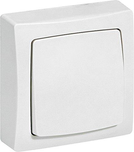 Legrand LEG97600 Les apparents-interrupteur ou va et vient saillie blanc