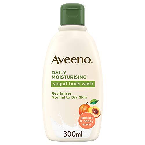 Aveeno Daily Hidratante yogur Body Wash, 300ml, aroma de naranja y miel