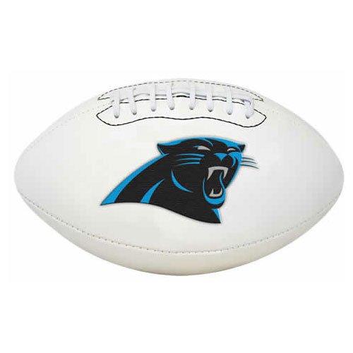 NFL Signature Series Full Regulation-Size Football, Carolina Panthers