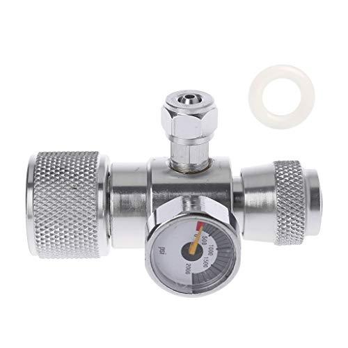 CO2-manometer JIS M22-14 drukregelaar-manometer meer dan 1500 psi-drukregelaar van William-Lee