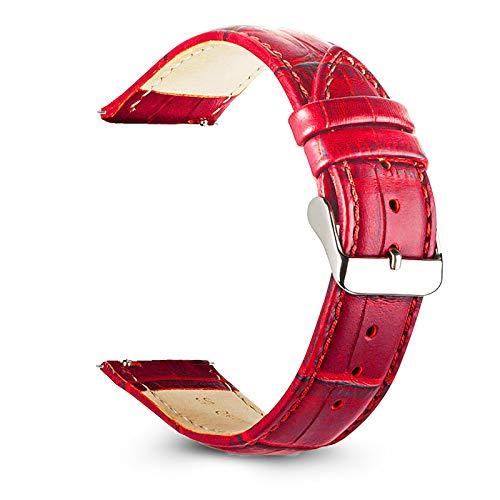 Correas De Piel - Cross Piel Correa, Correa Reloj Vintage Cuero Genuino, Correa Reloj con Cuero, Correa De Piel para Reloj, Correa Reloj Piel, Correa Piel Watch, Correa Reloj, Correas Piel (20mm)