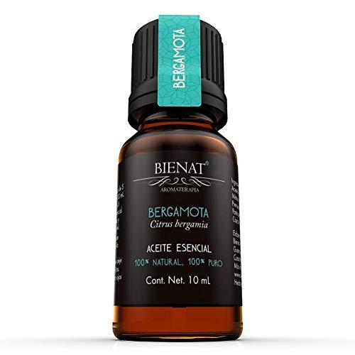 BIENAT AROMATERAPIA Aceite Esencial de Bergamota 10mL