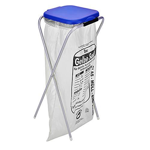 Müllsackständer Müllabfallbehälter Müllbehälter für 120 L Müllsäcke Abfallsammler Müllsackbehälter Mülleimer