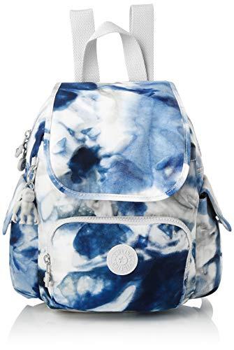 Kipling Damen City Pack Mini Rucksack Mehrfarbig (Tie Dye Blue)