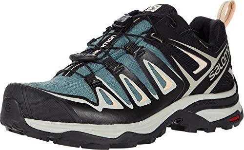 SALOMON Damen Shoes X Ultra Wanderschuhe, Grau Balsamgrün Mineral Grau Bellini, 38 2/3 EU