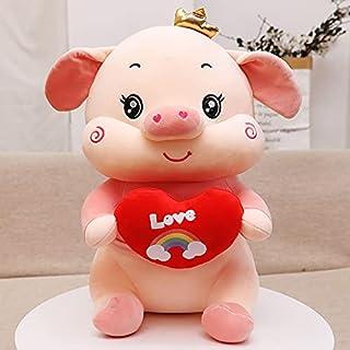 40-70cm varken pop kussen meisje slapen knuffel pop beer grote oversized ragdoll schattig bed super zacht 40cm roze