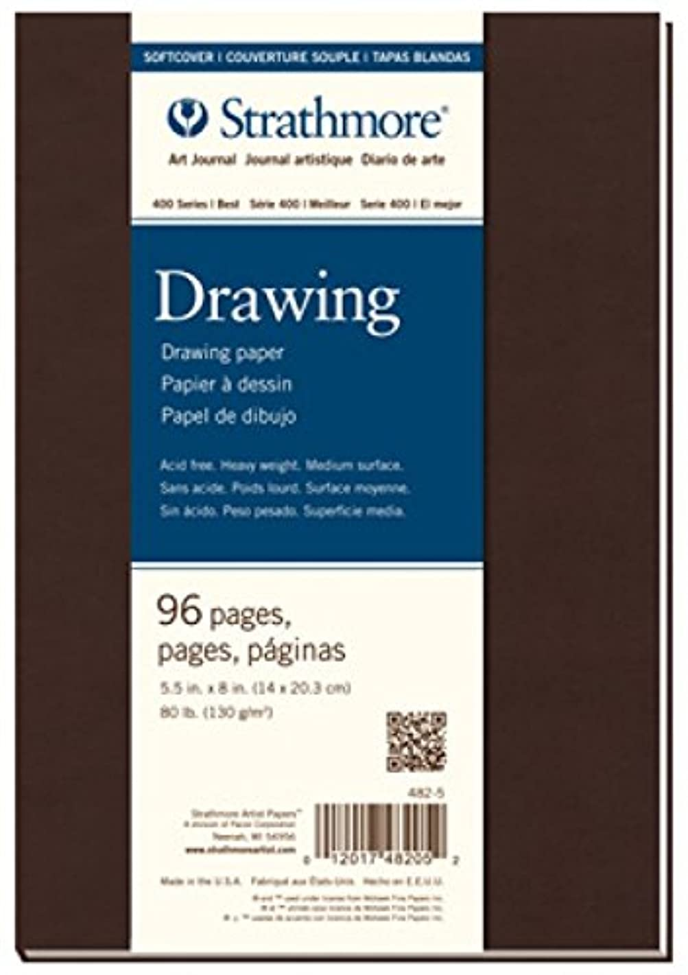 Strathmore (482-7 400 Series Softcover Art Drawing Journal, 7.75