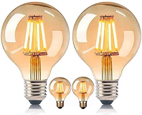 MeYuxg Bombilla vintage Edison E27, bombilla de estilo retro