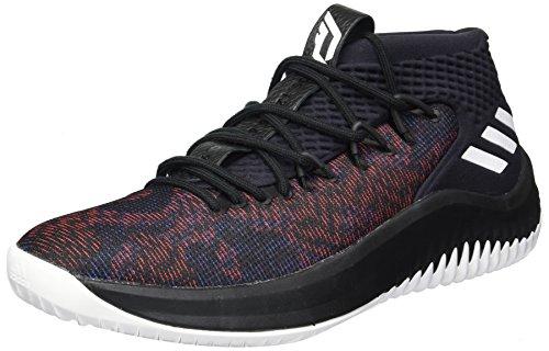 adidas Dame 4 Shoe Men's Basketball 14 M US Core Black-White