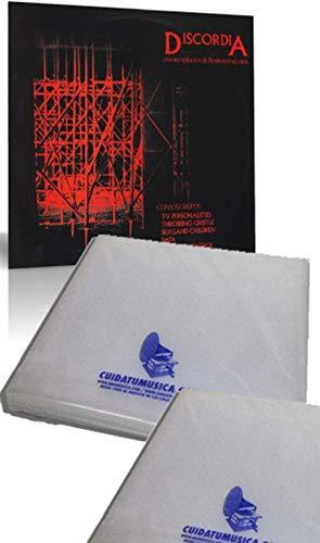 CUIDATUMUSICA 100 Fundas para Discos DE Vinilo LP Grosor Medium GALGA 400 - Marca Cuida-Tu-Musica - / Ref.2414