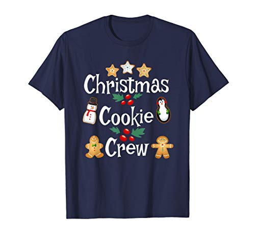 Bakers Christmas Cookie Crew Family Baking Team Holiday Gift T-Shirt