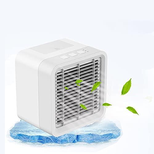 GAO-bo Condizionatori Mobili, Funzione Tre in Uno di Riduzione della Temperatura, Umidificazione E Purificazione dell'Aria Mini Condizionatore d'Aria Portatile per Ufficio All'aperto