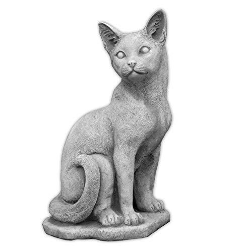 Carino Decorazioni Figurina Gatto Gattino Giardino Di Pietra Gatto Fatti Del Cast In Pietra Frostfest