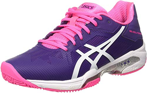 ASICS - Gel Solution Speed 3 Clay, Color Morado,Rosa, Talla...