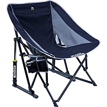 GCI Outdoor Pod Rocker Collapsible Rocking Chair & Outdoor Camping Chair