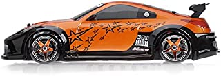 Exceed RC 1/10 Scale MadSpeed Electric Powered Drift Car 350 Style Orange