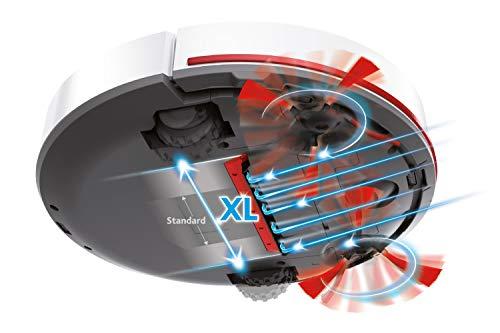 Vileda VR 102 Saugroboter (mit extra-langer Laufzeit und XL-Saugöffnung), weiß - 6