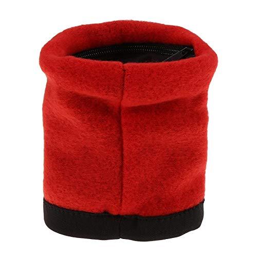 Teror Handgelenk-Tasche, 5Colors Outdoor Sport Running Jogging-Fitnessstudio Gym Armband-Tasche Armband-Brieftasche(rot)