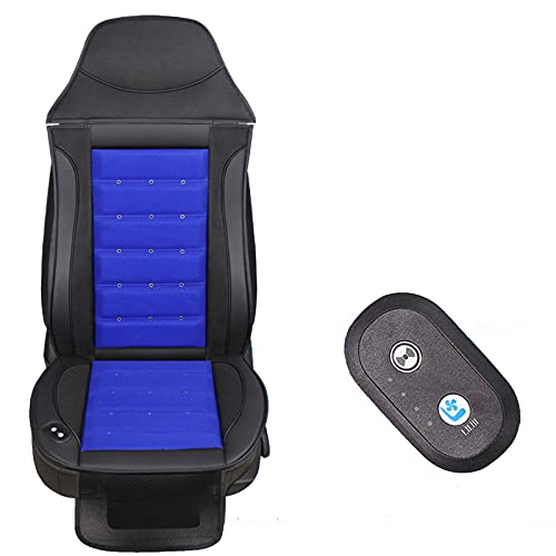 DUTUI Car Cooling Seat Cover-Air-Ventilated Cooling Seat Cover for Cars, Suitable for Strong Summer Airflow, Universal Type,Blue