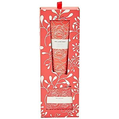 Spa Luxetique Rose Shea Butter Hand Cream,4 fl oz & 1.8 oz Bar Soap Duo Gift Set