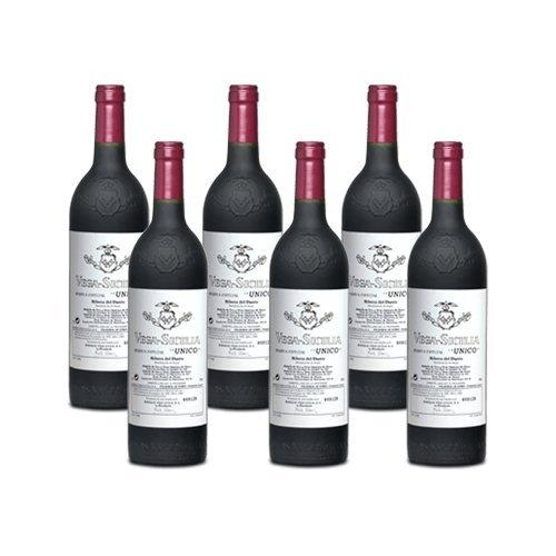 Vega Sicilia Unico - Vino Tinto - 6 Botellas