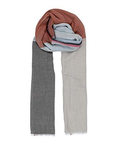 Becksöndergaard Vikko Cowea - Bufanda de verano para mujer, multicolor, algodón, 100 x 200 cm