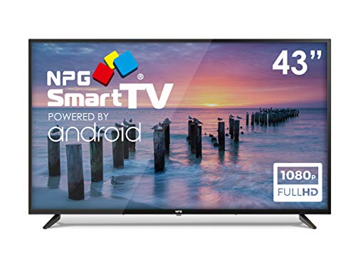 "Televisor NPG LED 43"" Full HD, Smart TV Android, WiFi, Bluetooth, TDT2 H.265, PVR"