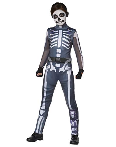 Spirit Halloween Kids Skull Ranger Fortnite Costume | Officially Licensed - XL