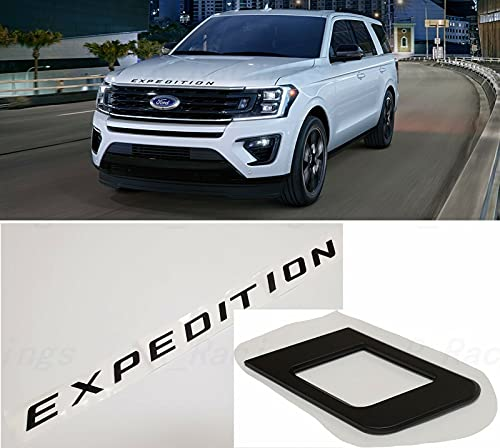 Cibo Matte Black Front Hood fit for EXPEDITION Letters Emblem FIT 2018-2020 EXPEDITION