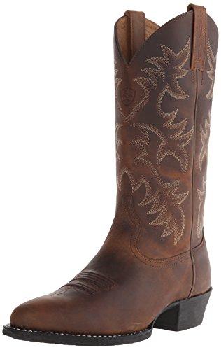 Ariat Heritage R Toe Western Cowboy Botas para hombre