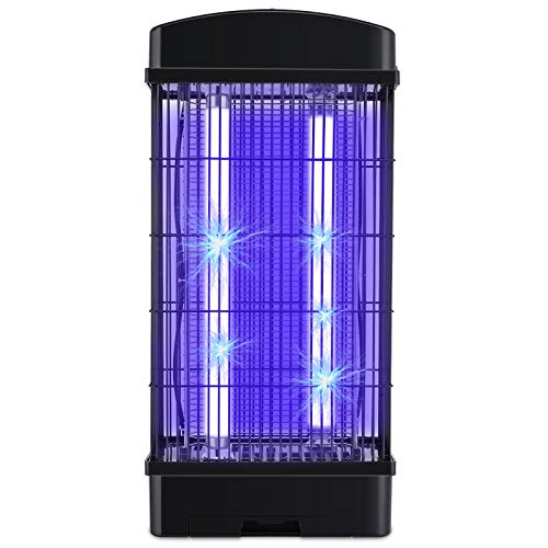 Deckey Lampe Anti Moustique, 20W UV LED Répulsif Piège à Moustiques Électrique Tueur de Moustiques/Insectes, Pas de Chimique, Non Toxique pour Chambre Cuisine Jardin Camping Attrape Moustique