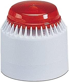 Federal Signal LP7-18-30R Streamline Low Profile Combination Sounder/Strobe, 18-30 VDC, Red