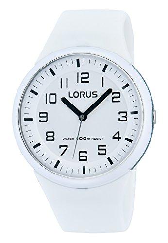 Lorus Damen Analog Quarz Uhr mit Silikon Armband RRX53DX9