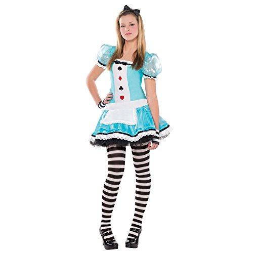 Fancy Dress VIP Christys Abito TEENAGER INTELLIGENTE ALICE NEL PAESE DELLE MERAVIGLIE...